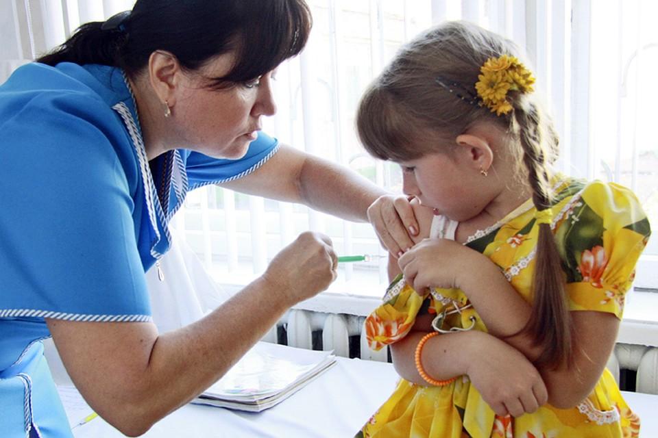 Сделать ребенку прививку платно
