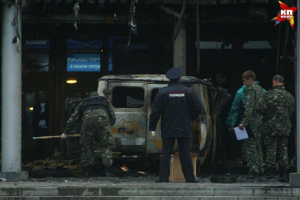 Задержанный находится в больнице, так как получил ожоги.