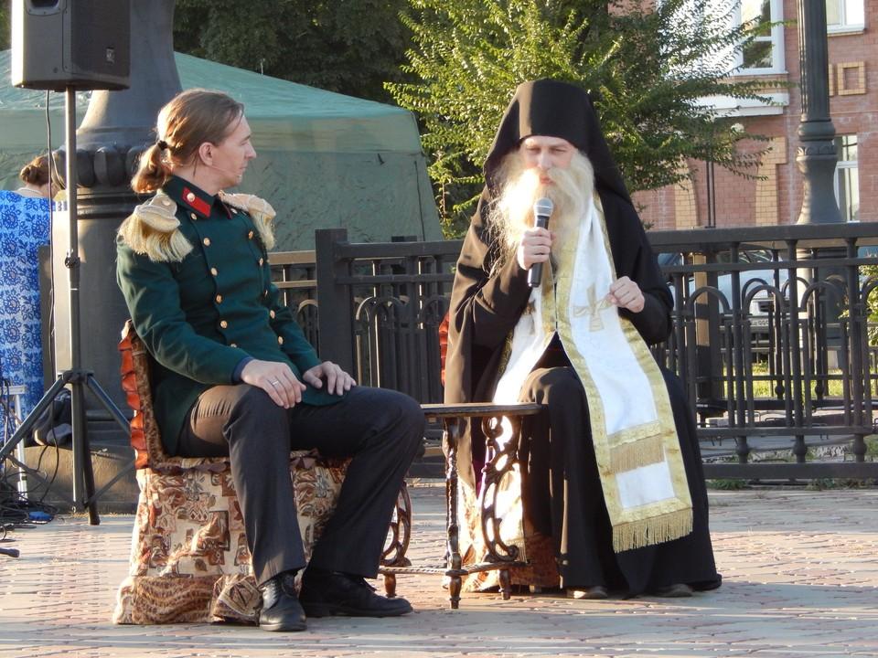 Театра-студии «Демиурги» представила сцены из пьесы Валерия Хайрюзова «Иннокентий».