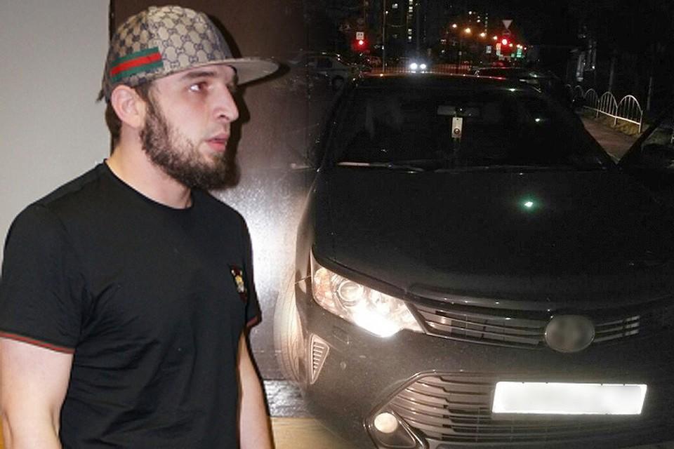 Задержанный полицейскими лихач и его автомобиль. ФОТО мвд.рф