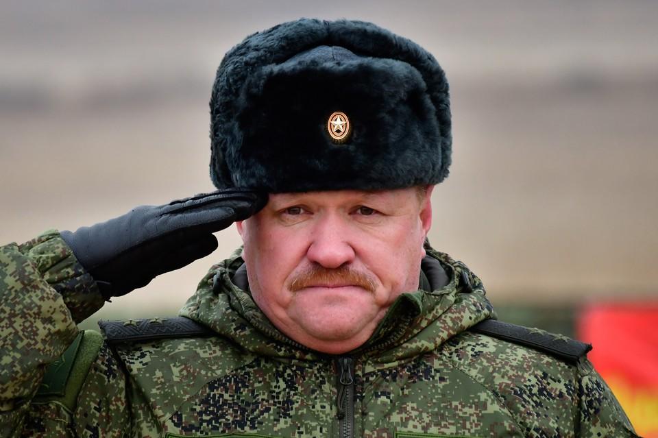 Генерал Асапов. Фото: Юрий Смитюк/ТАСС
