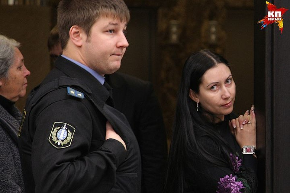 Анжела-Мария Цапок не пропускала ни одного заседания, когда судили ее мужа