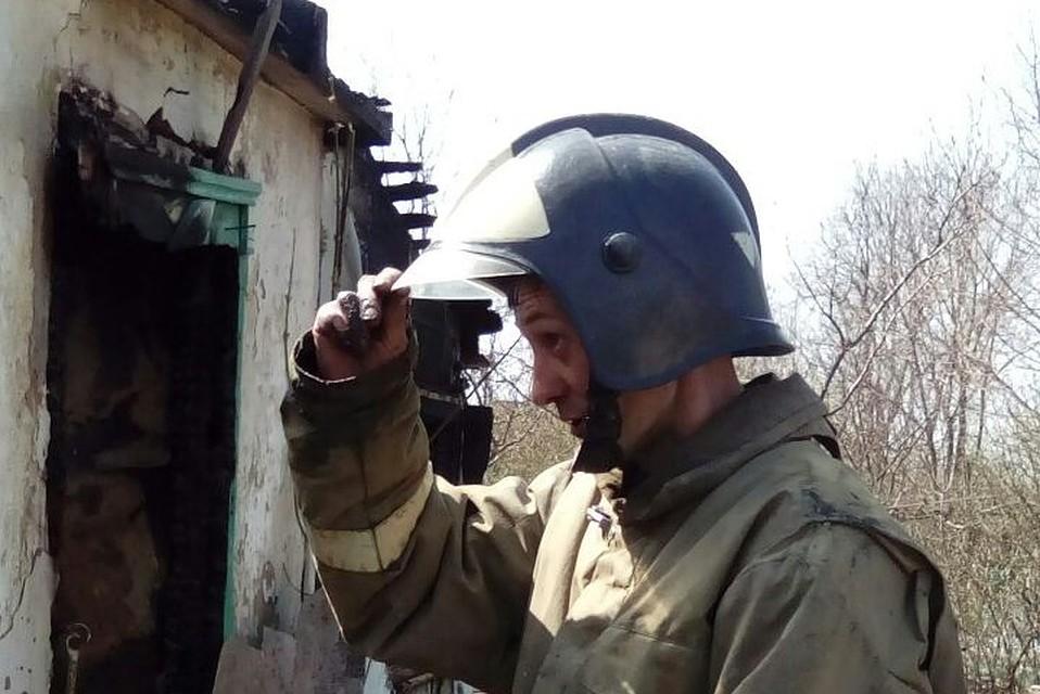 Впожаре вРостовской области погибли три человека