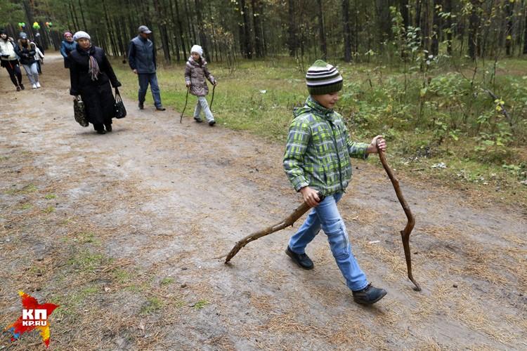 Более десяти тысяч барнаульцев пришли на Всероссийский день ходьбы