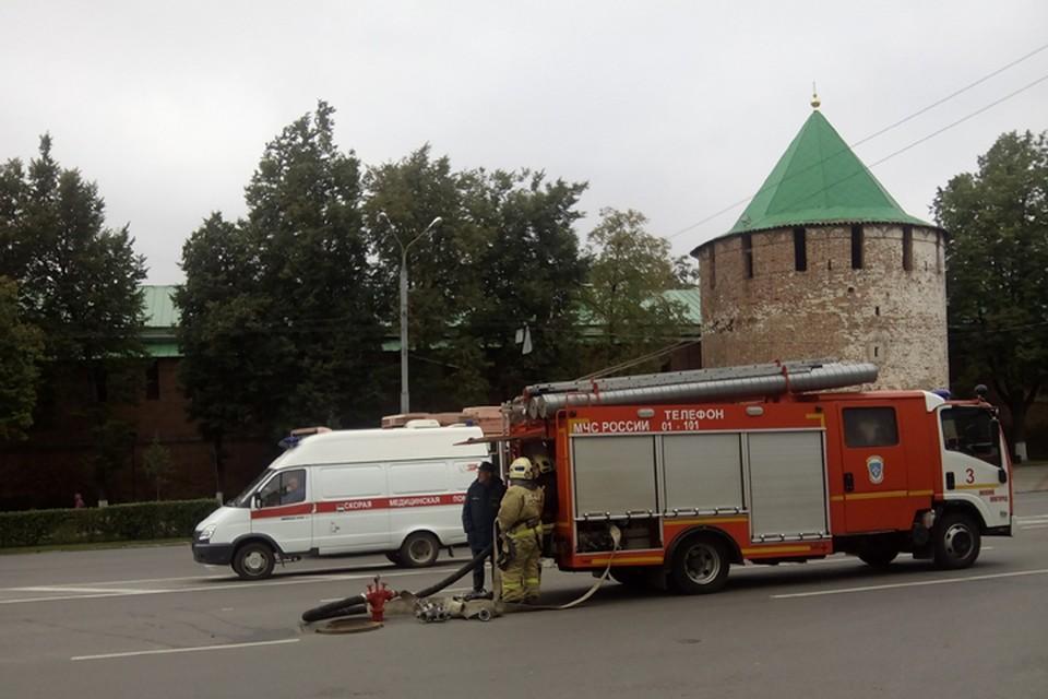 Нижегородский кремль эвакуировали из-за угрозы теракта утром 2 октября 2017 года.