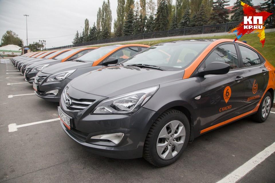 В Уфу приходят сервисы по кратковременной аренде автомобилей