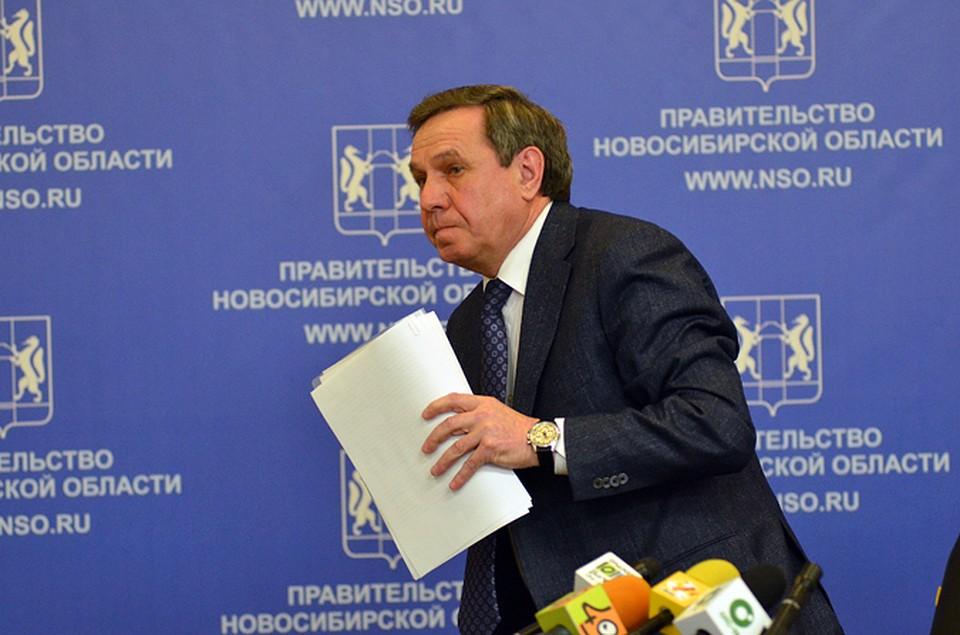 Губернатором Новосибирской области Владимир Городецкий был с 2014 года.