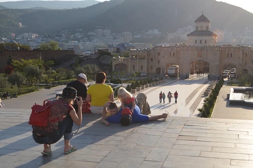 Одна из самых красивых достопримечательностей Тбилиси - крепость Нарикала.