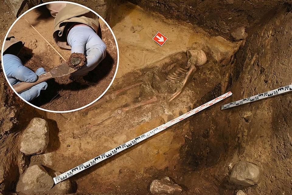 Археологи Литовского национального музея в начале февраля на горе Гедимина обнаружили первые захоронения казненных повстанцев Калиновского. Фото: lnm.lt