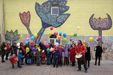 Арт-объект в стиле Гауди открыли в подмосковном детском доме