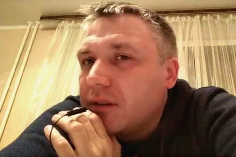 Роман Шимко записал и выложил в интернет своё видеообращение