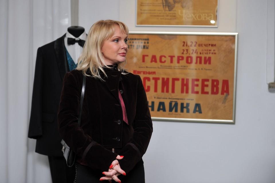 Вдова Евстегнеева актриса Ирина Цывина