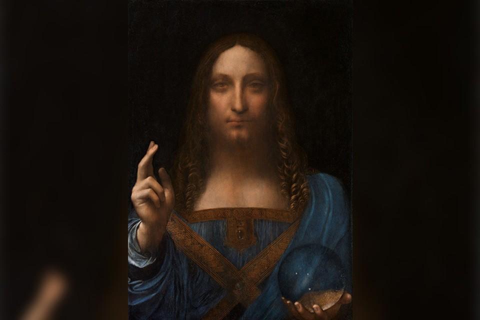 Картину «Спаситель мира» долгое время принимали за копию.