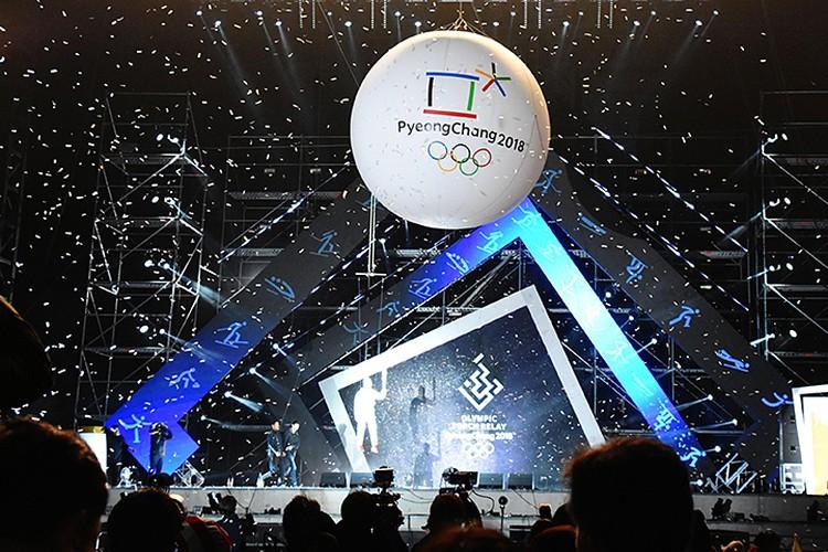 До старта игр в Пхенчхан осталось менее трех месяцев