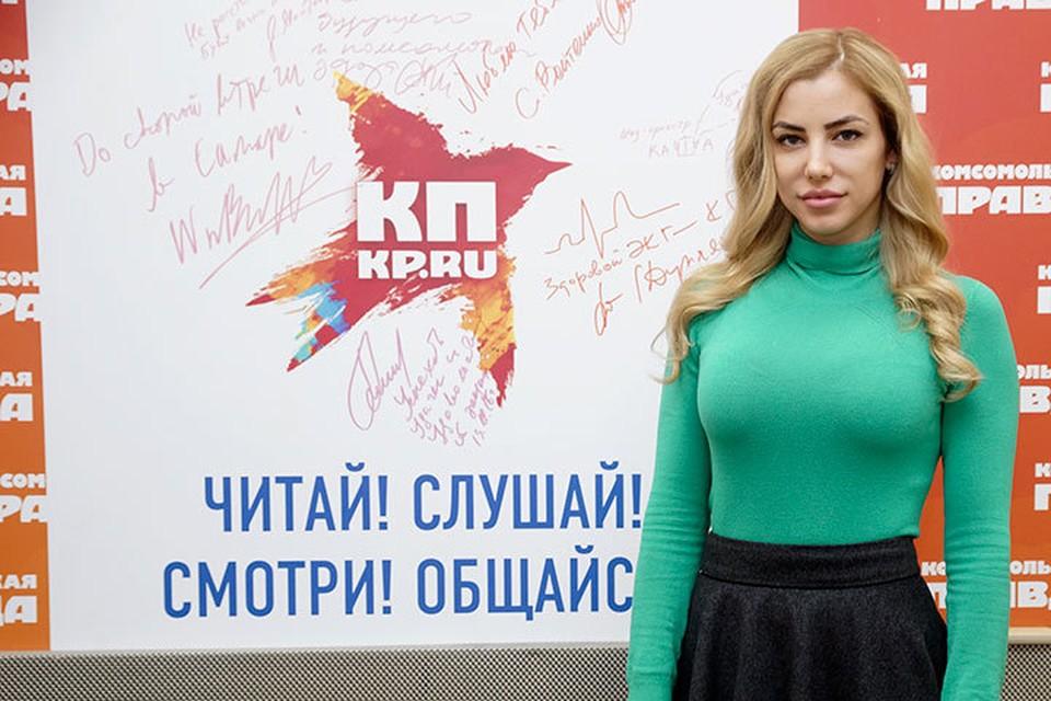 """Екатерина Пузикова на Радио """"Комсомольская правда"""" - Самара"""""""