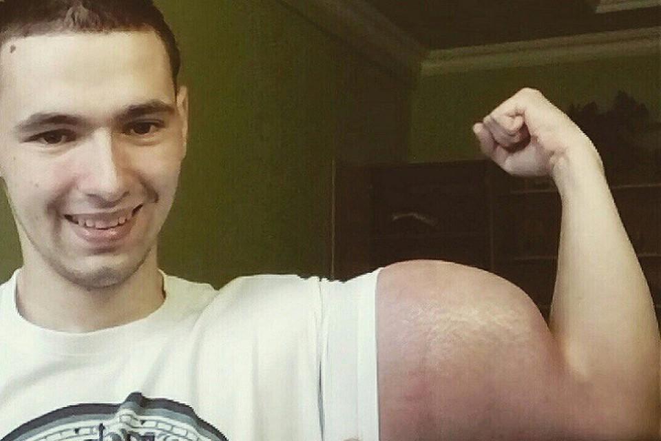 Кирилл Терешин хочет стать фриком. Фото: официальная группа героя публикации в соцсетях vk.com/slacker26