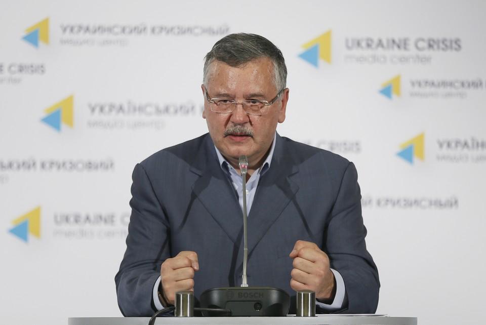 Бывший министр обороны и кандидат в президенты Украины Анатолий Гриценко Фото ИТАР-ТАСС Зураб Джавахадзе