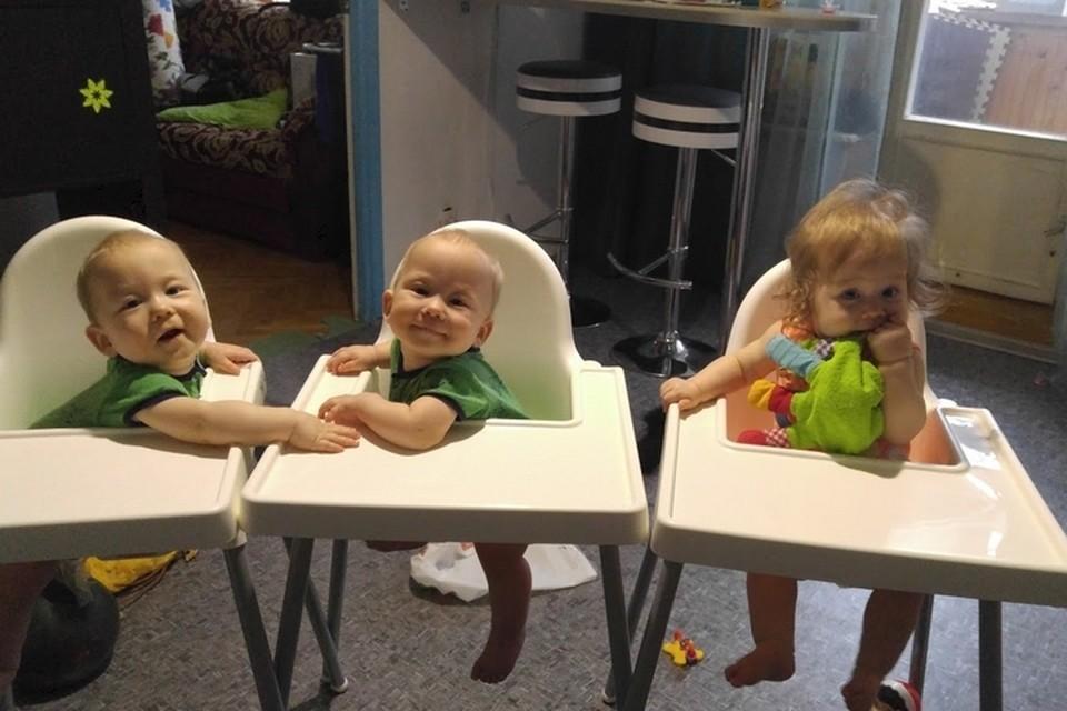 Аксяновы-младшие перед обедом