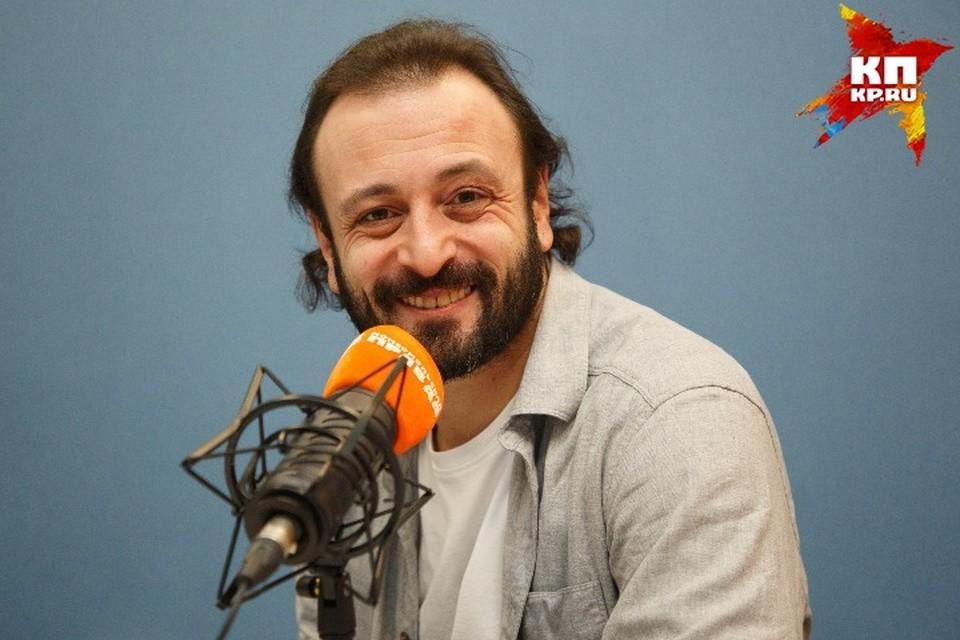 Илья Авербух в студии радио «Комсомольская Правда в Петербурге»