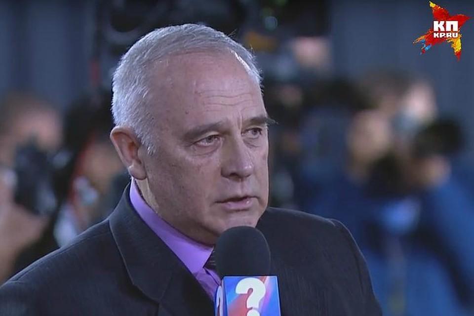 Михаил Зуб на пресс-конференции Владимир Путина. Скриншот видео.