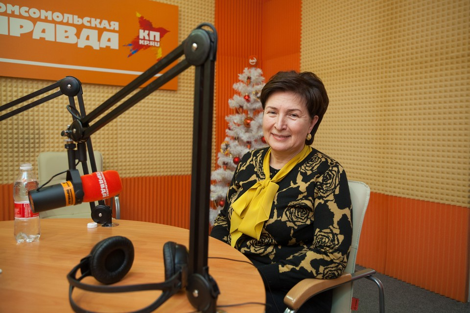 Ректор СКФУ Алина Левитская