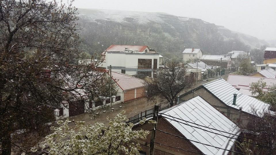 Днем 13 и 14 января выпадет снег.