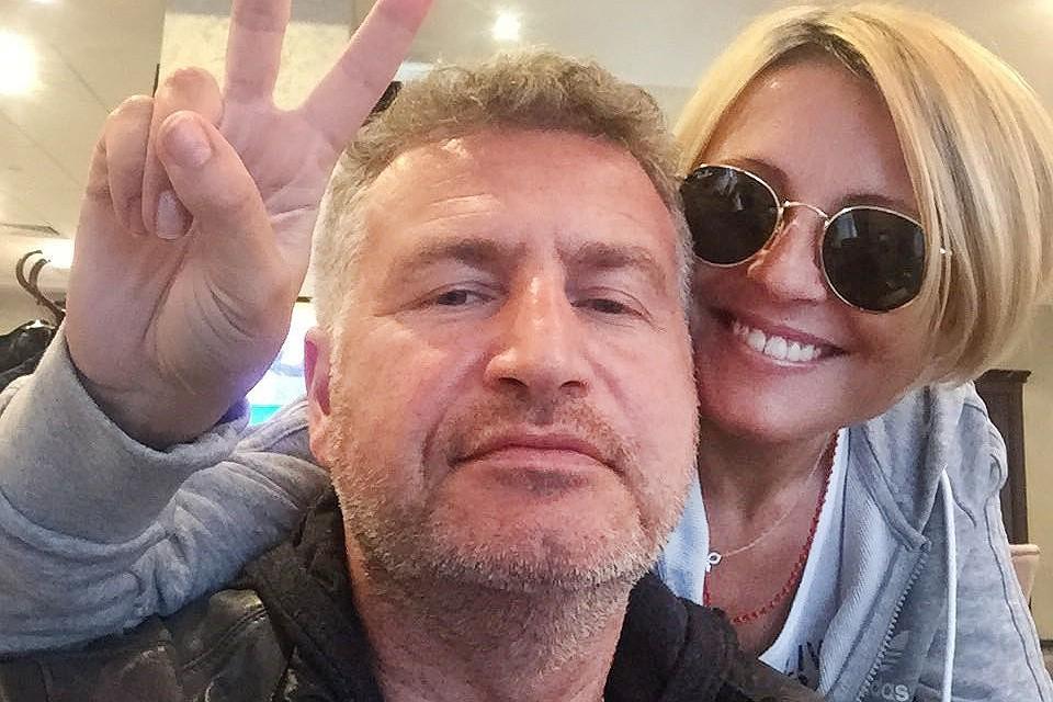 Леонид Агутин и Анжелика Варум.