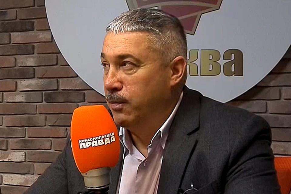 Михаил Юрьев, ведущий программы «Главтема» на Радио «Комсомольская правда»