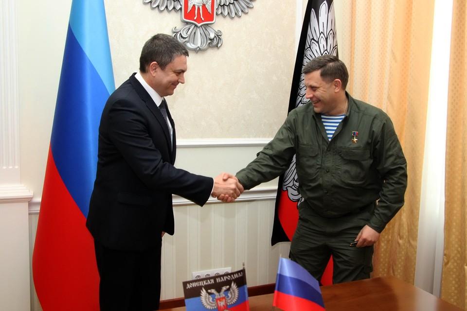 Первый приезд Леонида Пасечника в Донецк ознаменовался прорывом в отношениях между республиками