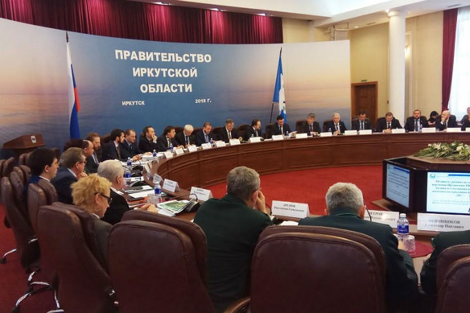 Глава Минприроды России Сергей Донской провел в Иркутске заседание по вопросам охраны Байкала