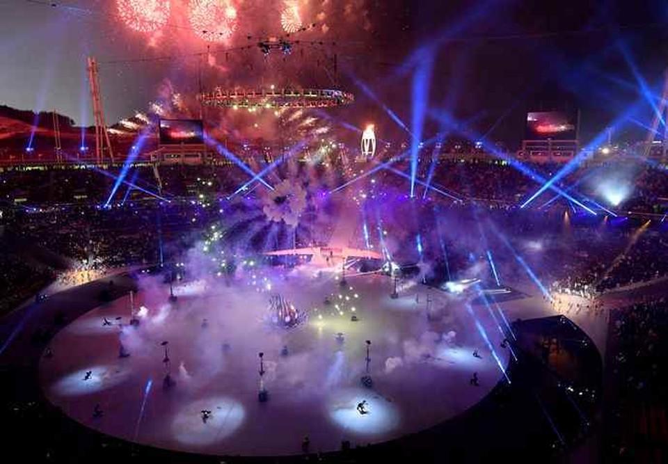 Церемония открытия Зимних Олимпийских игр-2018 в Пхенчхане
