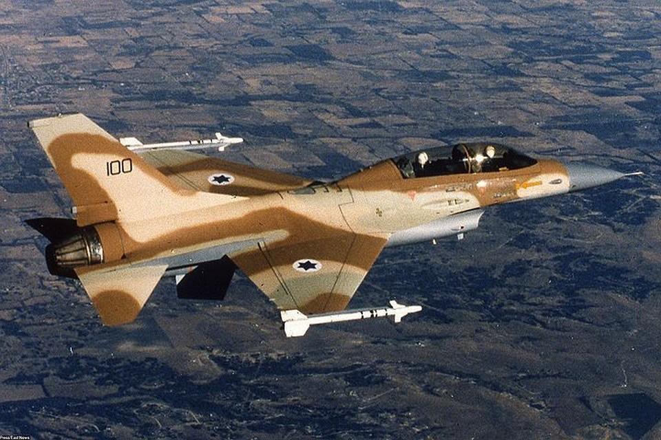 Израильские ВВС сбили иранский беспилотник и потеряли истребитель F-16