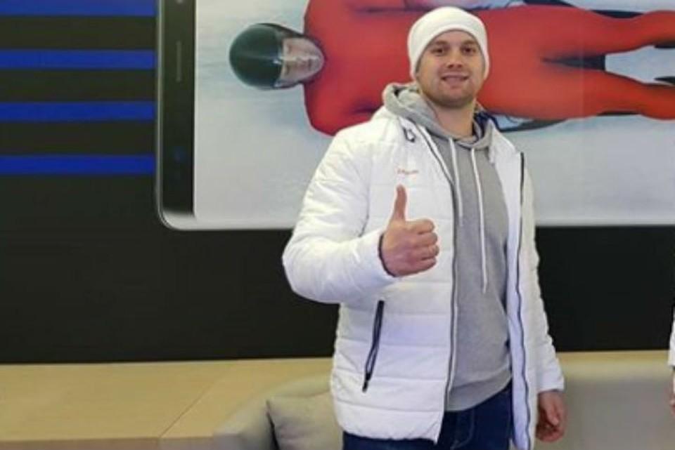 Олимпиада 2018: саночник из Братска Семен Павличенко стал 24 в первом заезде. Фото: личный архив Семена Павличенко