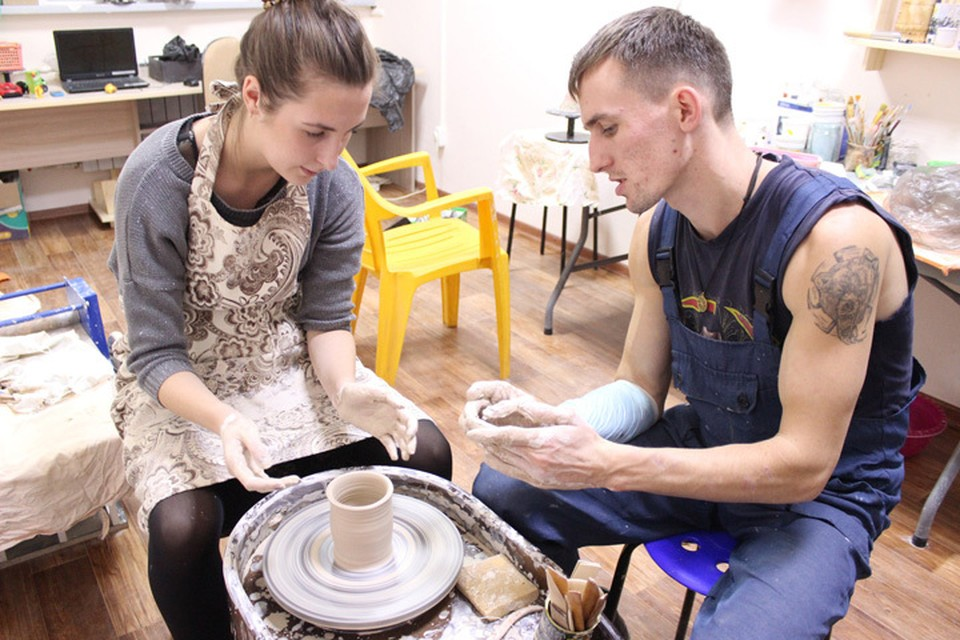 Премудрости гончарного дела доступны всем Фото предоставлены автономной некоммерческой организацией «Пензахобби»