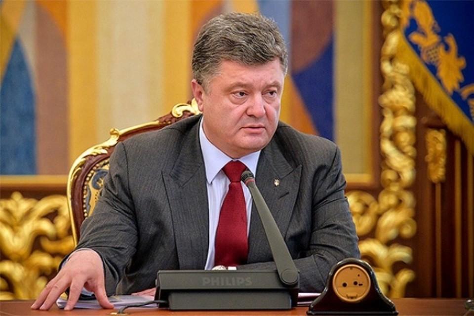 Президент Украины Петр Порошенко уволил главу «Укроборонпрома»
