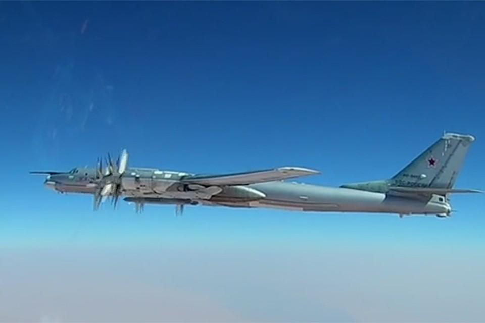 Стратегический ракетоносец Ту-95МС. Фото: скриншот с видео