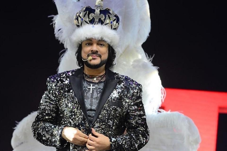В Сургуте Филиппу Киркорову преподнесли корону, украшенную кристаллами Svarowski