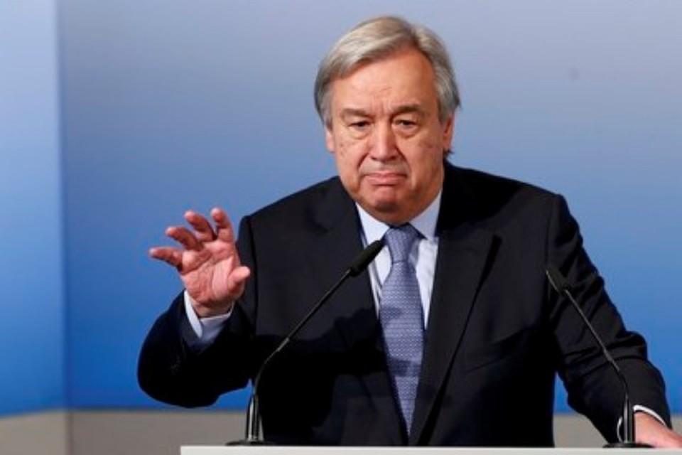 Генеральный секретарь ООН Антониу Гутерриш поприветствовал принятие Советом Безопасности ООН резолюции о прекращении огня в Сирии