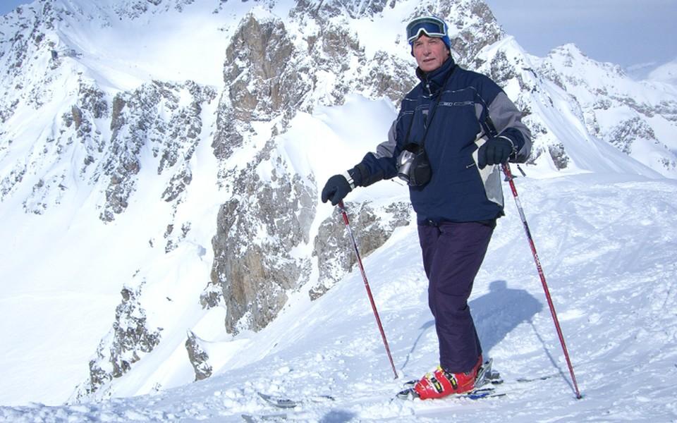 Дмитрий Барский в Австрийских Альпах. Фото из личного архива.
