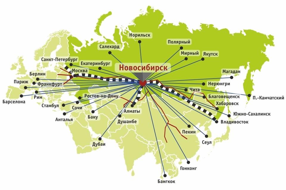 Новосибирская область расположена в географическом центре Евразийского континента, на пересечении транспортных коридоров, соединяющих европейскую часть континента с азиатской, и представляет собой крупный мультимодальный транспортно-распределительный центр. Фото: Роман КИРИЛЛОВ