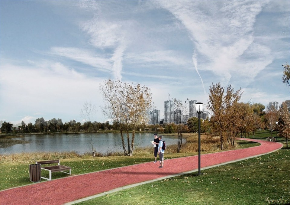 Так будет выглядеть новый парк Фото: предоставлено комитетом по благоустройству