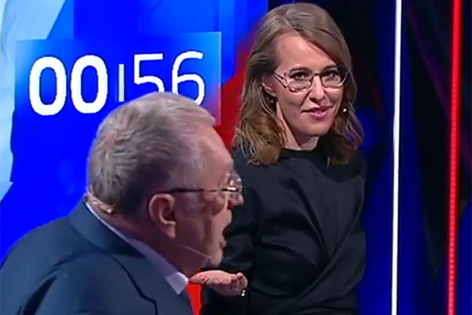 И вот на очередных дебатах в эфире телеканала Россия 24 оба кандидата снова устроили перепалку