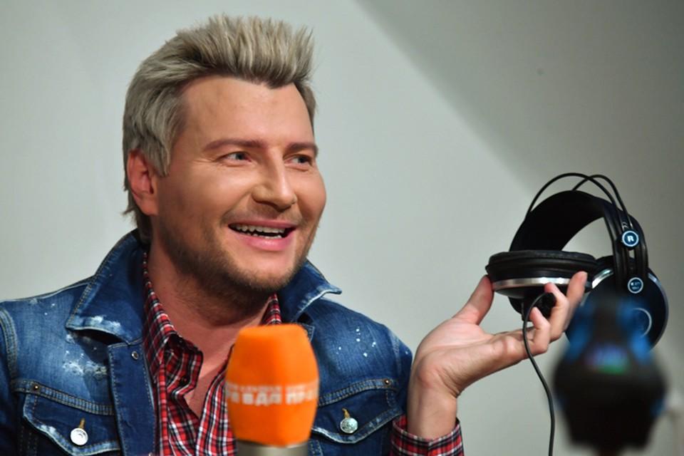 Николай Басков в гостях у Радио «Комсомольская правда»
