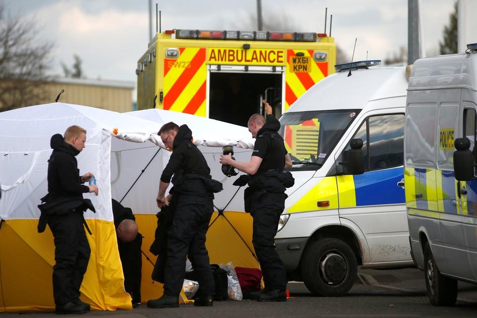 Скандальный инцидент произошел в Солсбери.
