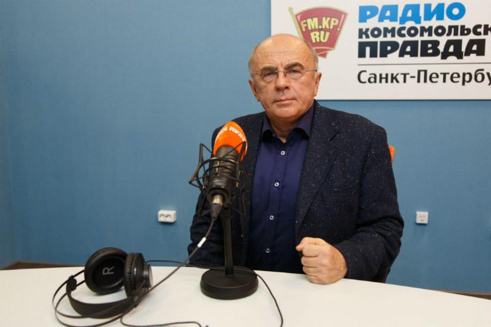 Ректор СПбГУП - постоянный гость Радио «Комсомольская правда в Санкт-Петербурге»