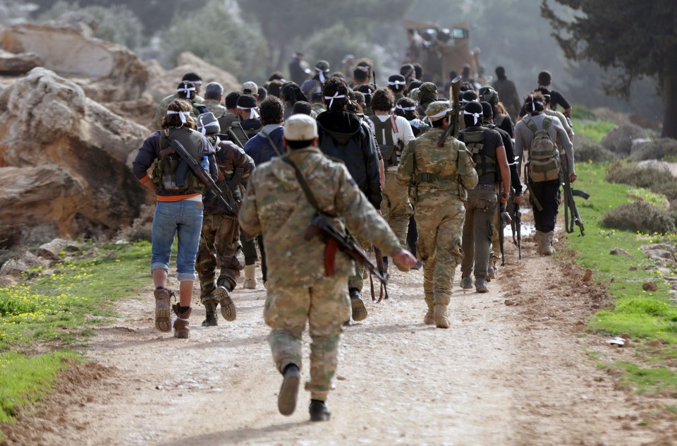 Отряды ССА не встретили никакого сопротивления со стороны жителей Африна
