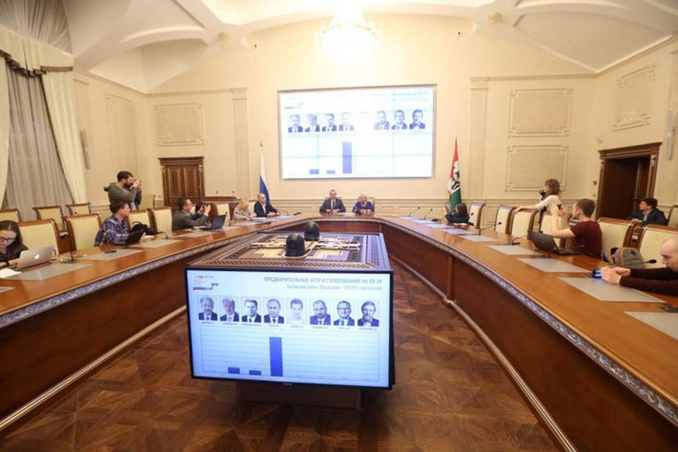 Выборы в регионе прошли без происшествий. Фото предоставлено пресс-службой правительства Новосибирской области