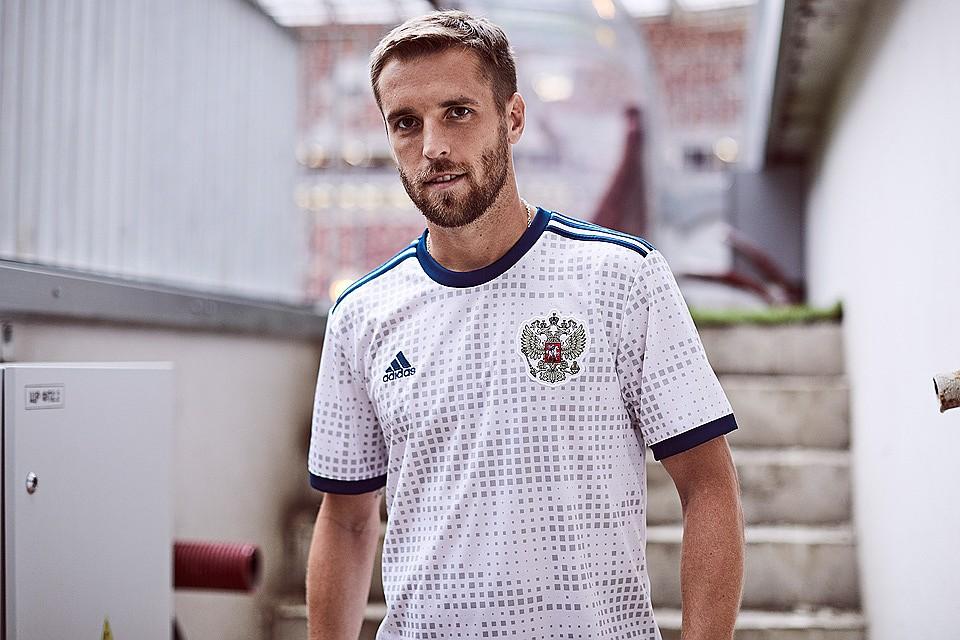 Представлена гостевая форма сборной России по футболу для домашнего  Чемпионата мира. 7b4ab561ae4
