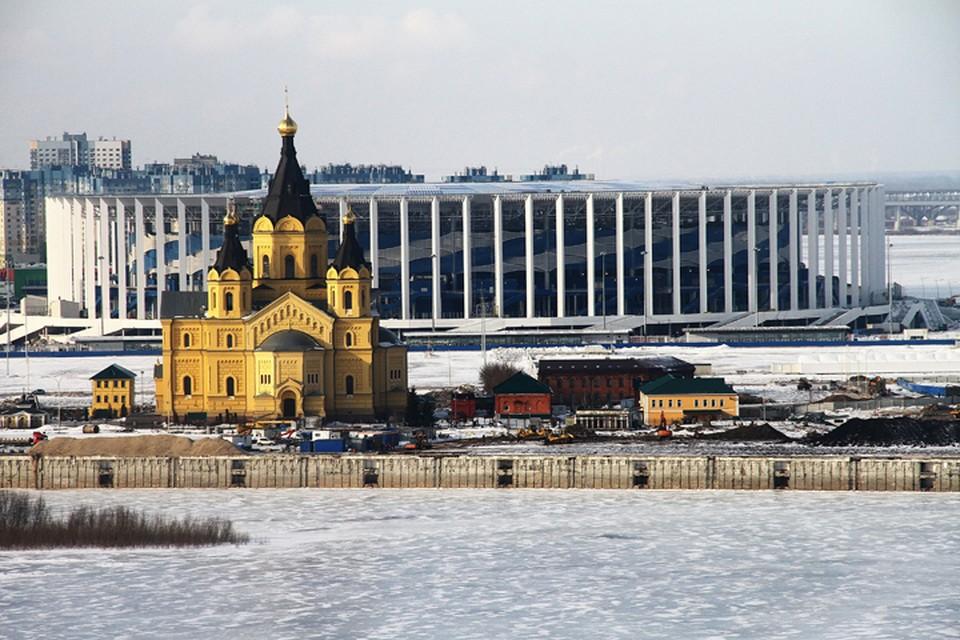 Стадион «Нижний Новгород» введен в эксплуатацию.