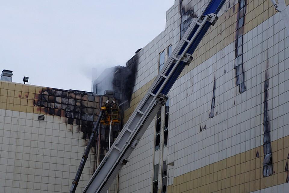 Пожар в Кемерово унес жизни более 60 человек